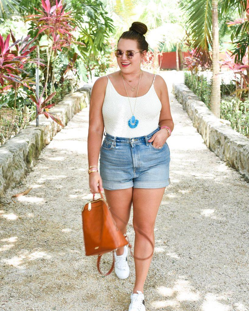 Beach Outfit For Chubby Girl