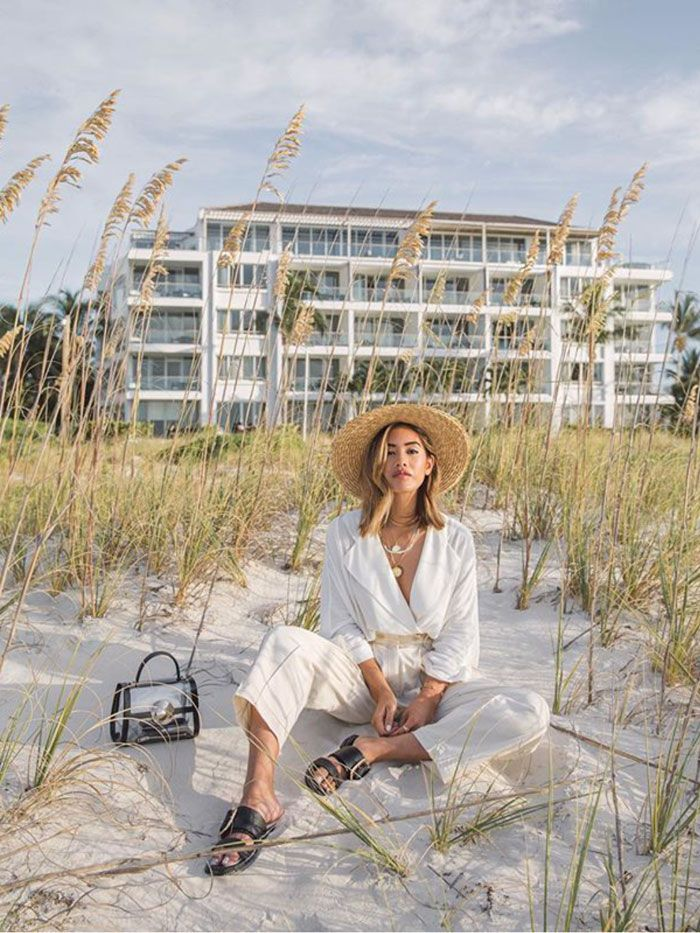 simple but cute beach trip outfit ideas for this summer