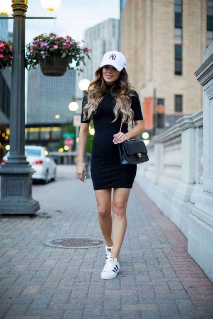How do you accessorize a black dress