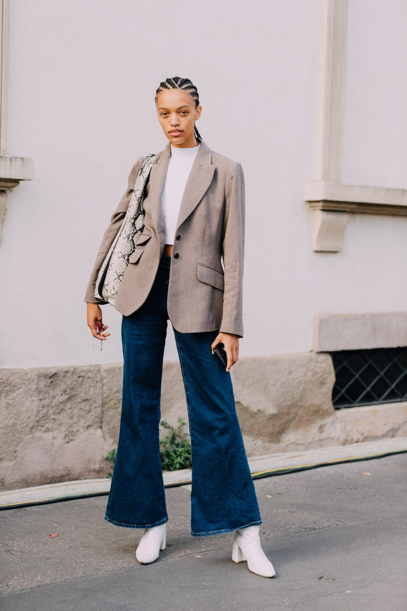 How to wear ankle boots with skinny jeans