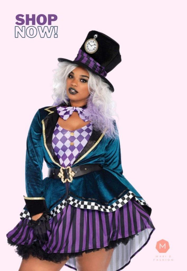 cute women's plus size halloween costumes