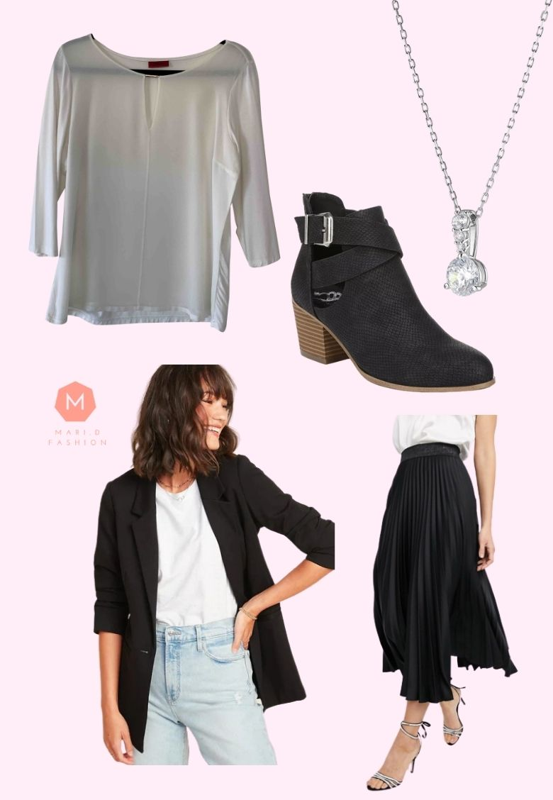 smart casual outfits for 50 year old woman