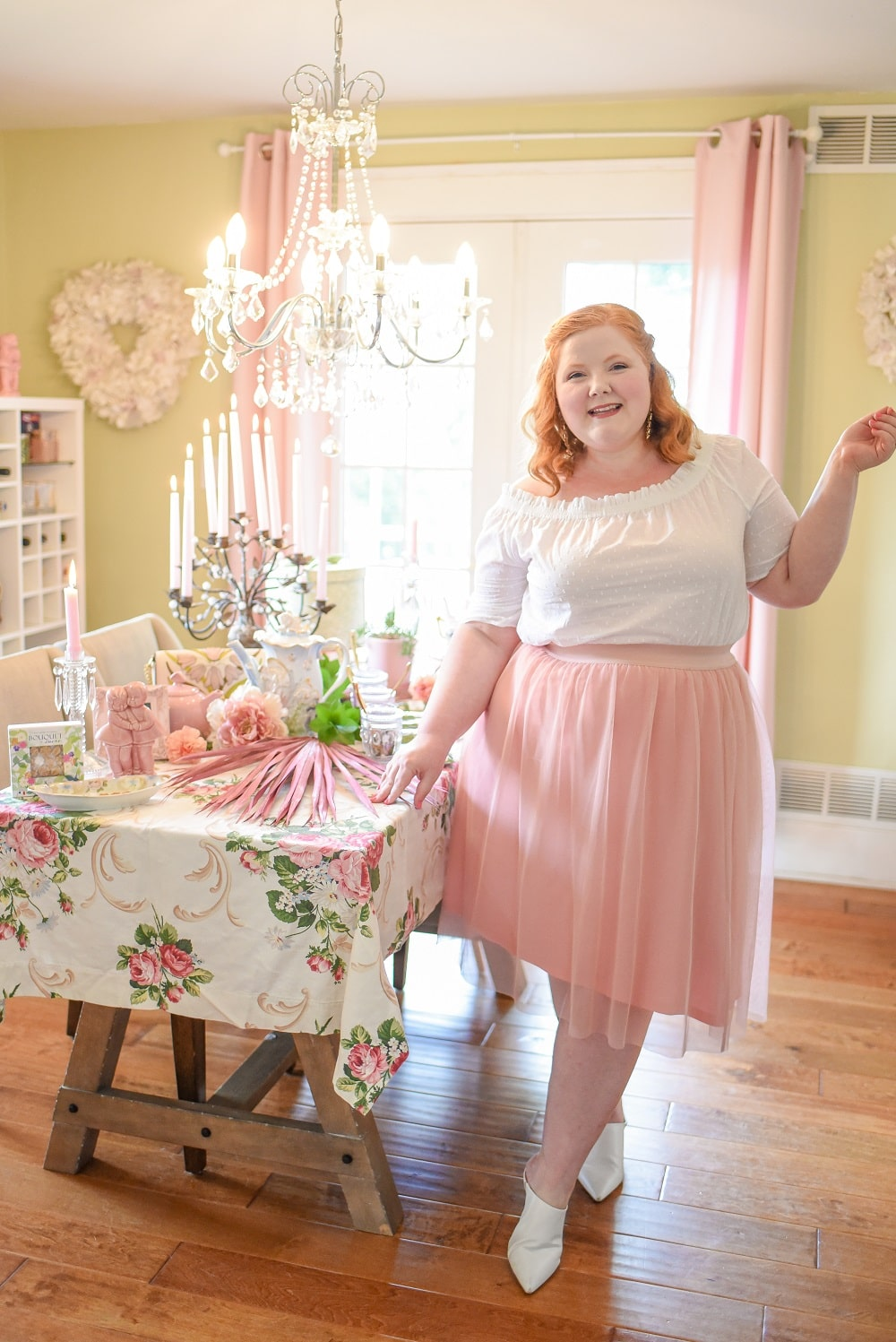 how to wear a tulle skirt for plus size