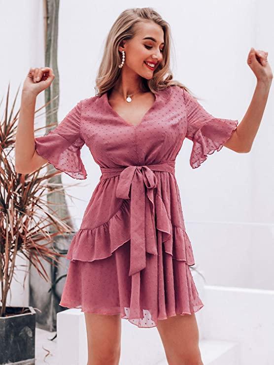spring dresses for apple shape