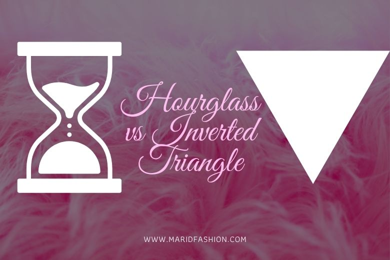 what is difference between hourglass and inverted triangle