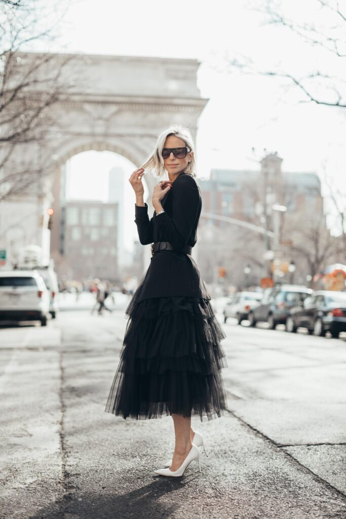 how to wear black clothing everyday