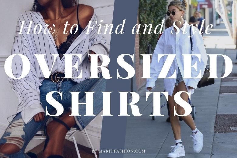 how to buy oversized shirts